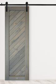 Schiebetür grau SKOLE modell