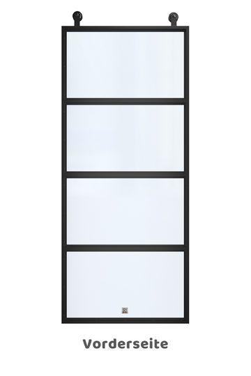 Stahl Schiebetür mit glas ATELIER 4