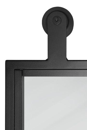 Metallschiebetür mit glas ATELIER