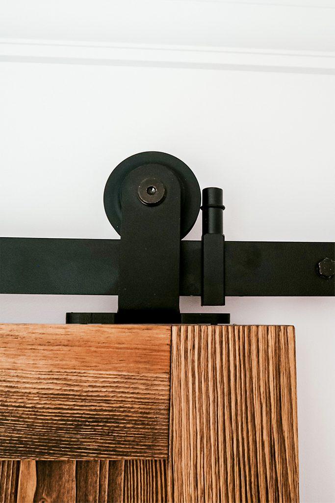 minimalistisches Schiebetürsystem, Schiebetürrollen