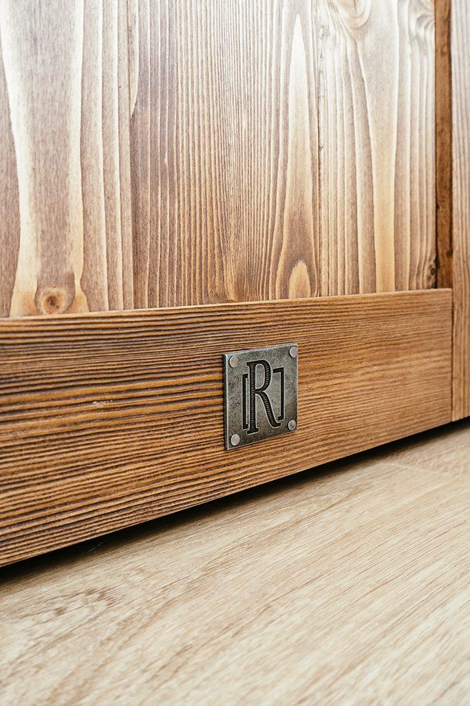Massivholzschiebetüren, Holztüren, Schranktür