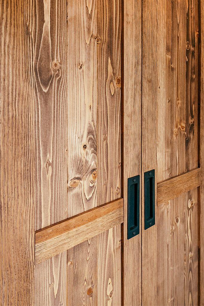 Massivholzschiebetüren, Doppelschiebetüren, Schiebetürgriffe