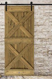 Schiebetür Holz Rustikal DUET