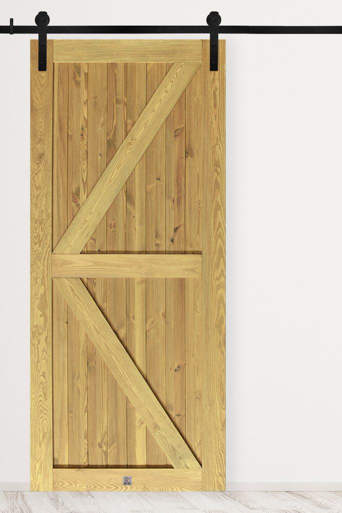 Massivholz Schiebetür KAMA