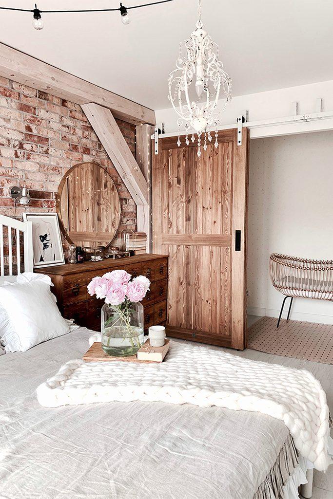 Gemutlich Rustikal Schlafzimmer Schone Idee Fur Eine Einrichtung