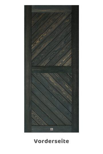 Holzschiebetüren Caro, schwarze eiche