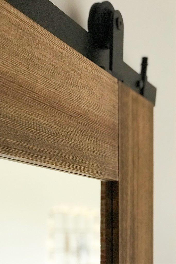 Holzschiebetür, Spiegeltür, Schiebespiegel, Schiebetürsystem