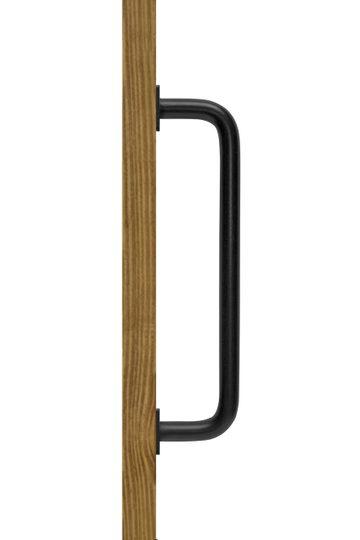 Metallgriff schwarz für Schiebetüren, INKA modell